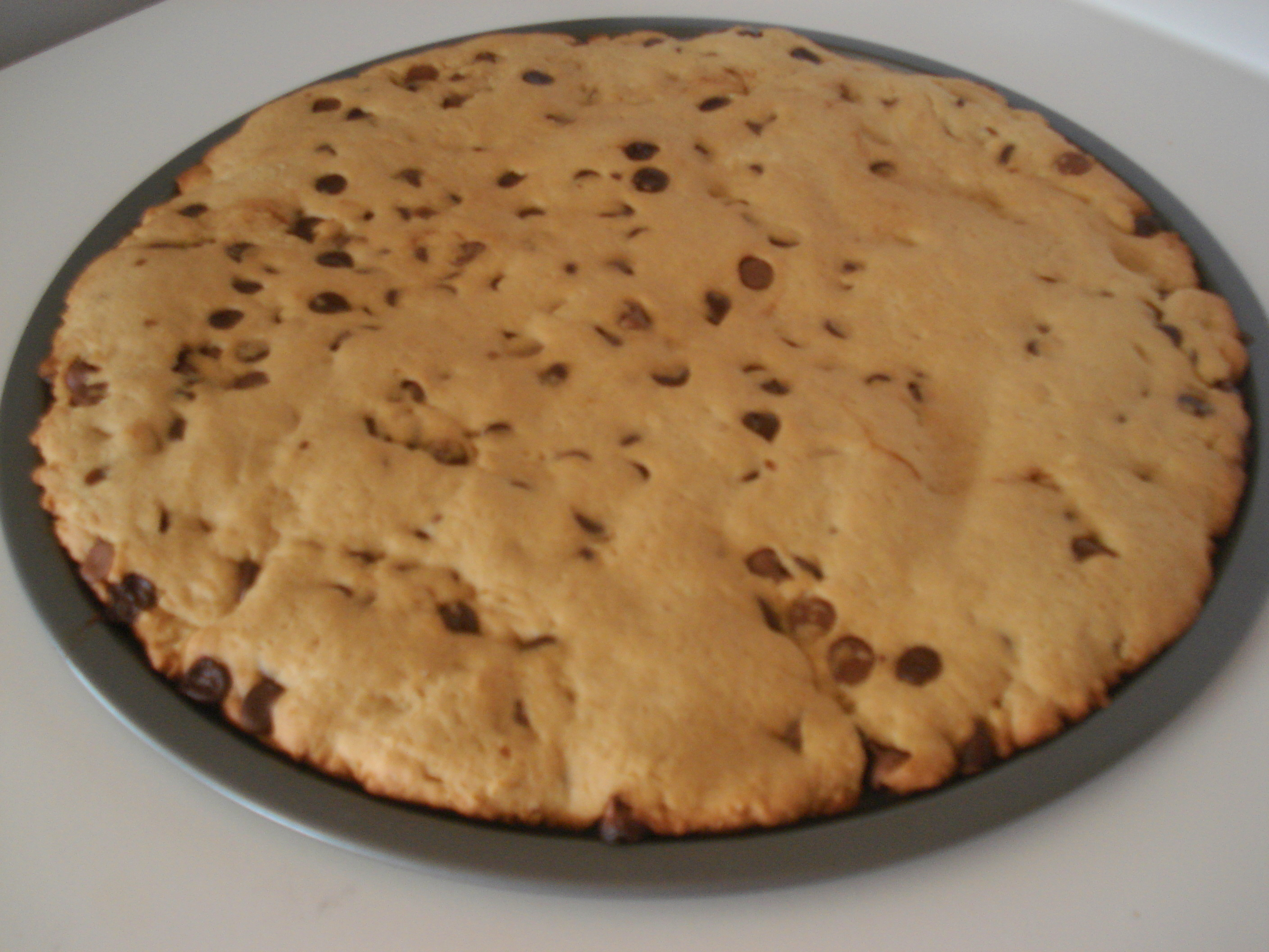 Peanut-Free, Nut-Free Chocolate Chip Cookie Cake | The Food ...