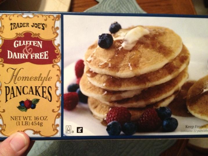 Trader Joes GF Pancakes Box
