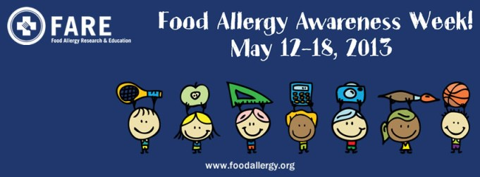 2013 Food Allergy Awareness Week Logo