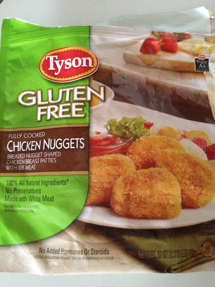 Tyson GF Chicken Nuggets