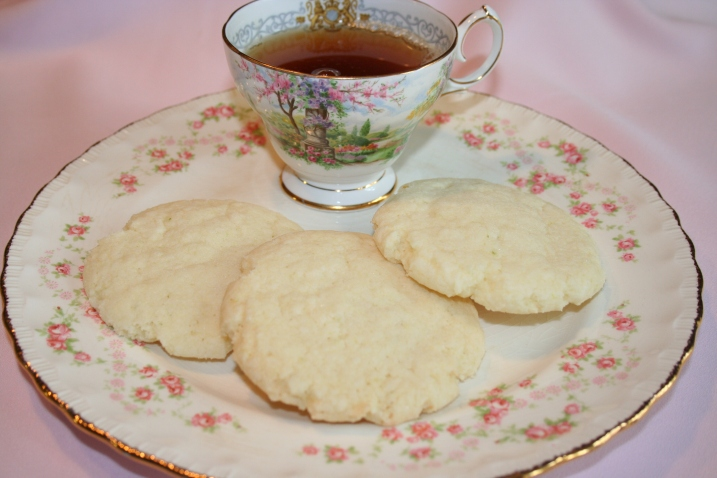 Liberation sugar cookies and tea