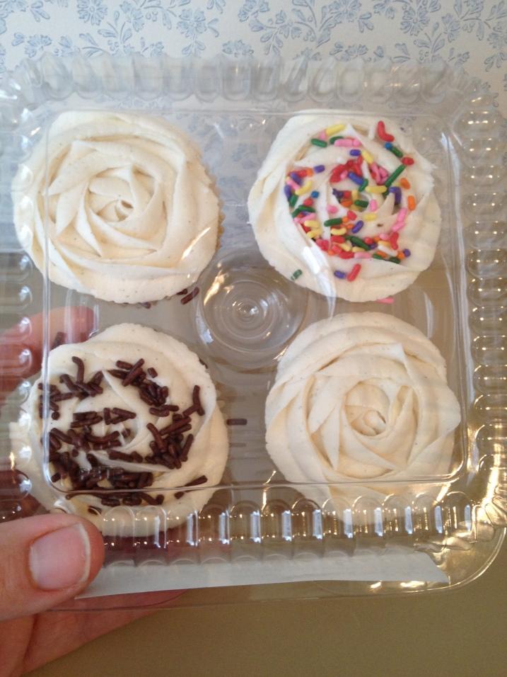 Liberation Vanilla Bean Cupcakes